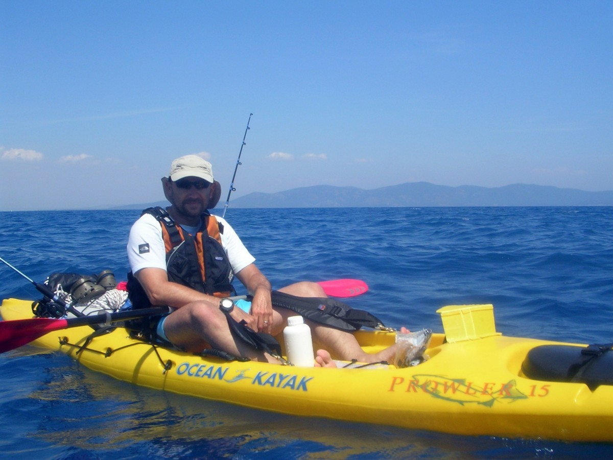 """Prowler 15"" Sit On Top (SOT) kayak by Ocean Kayak"