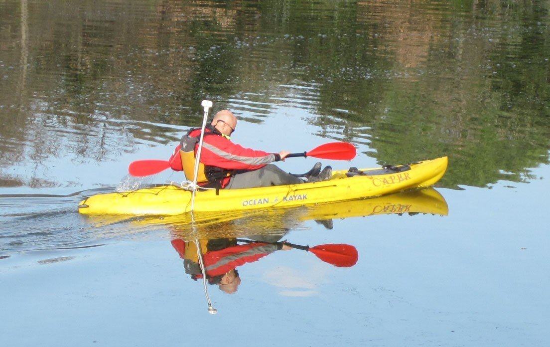 """Caper"" Sit On Top (SOT) kayak by Ocean Kayak"
