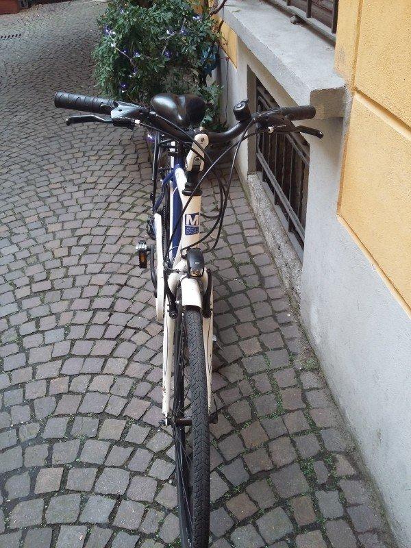 City Bike man