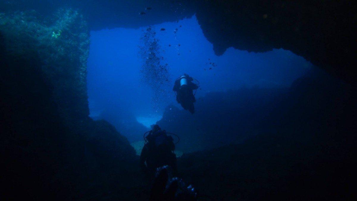 Immersione a Capo Figari
