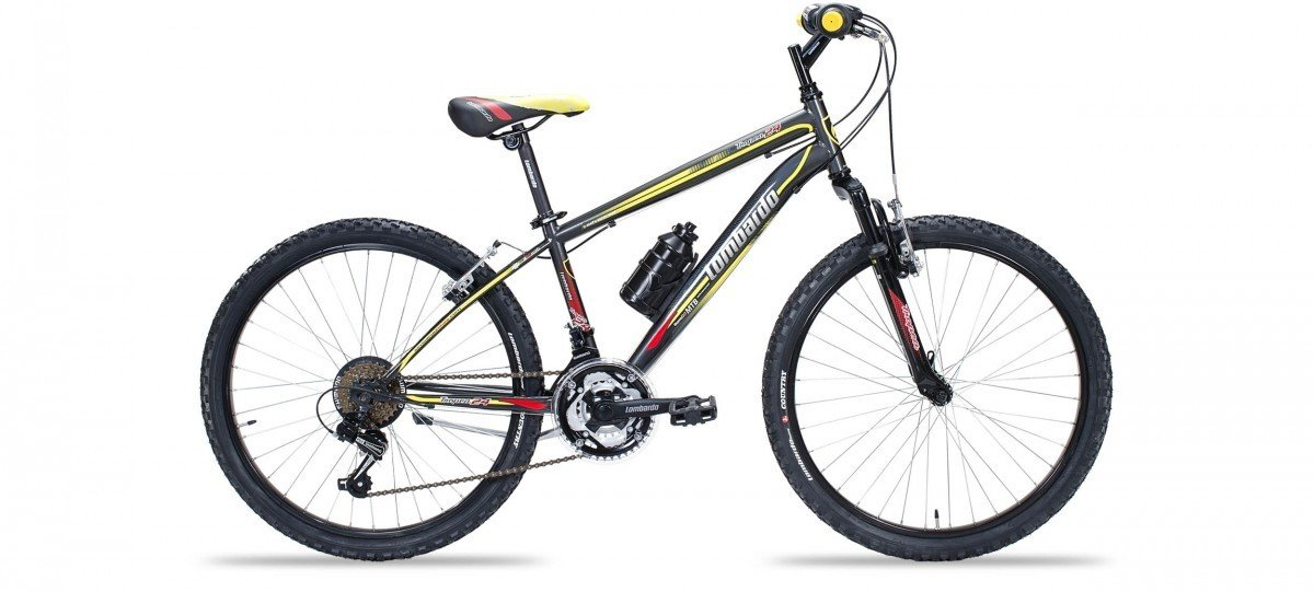 Mountain bike as a child