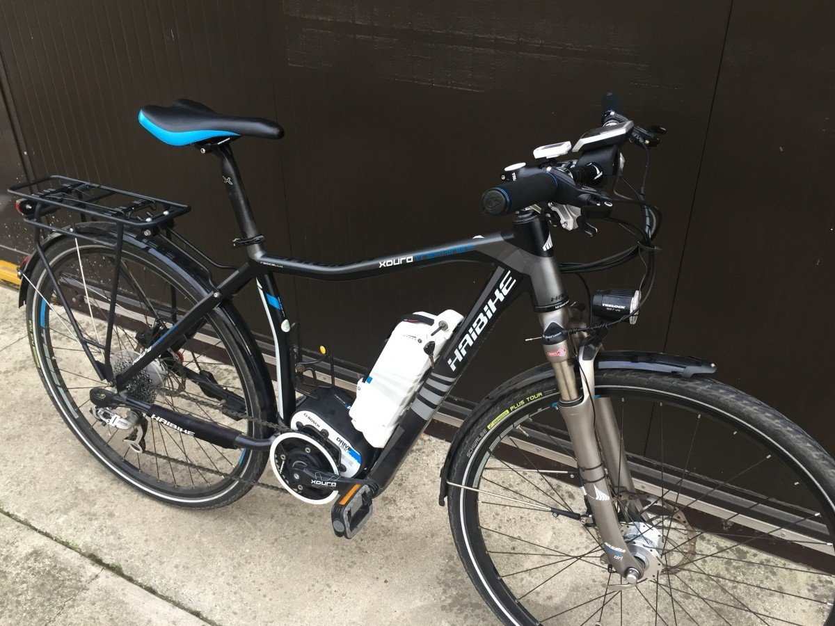 Haibike pedal assistance