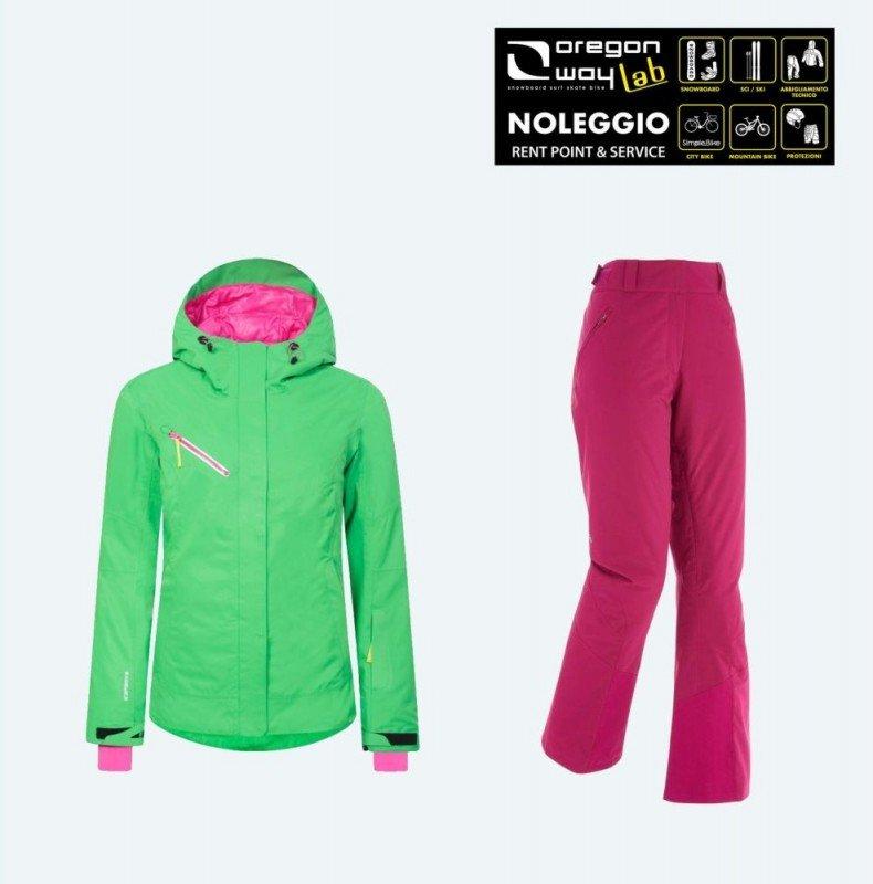 Kit Abbigliamento giacca e pantalone donna