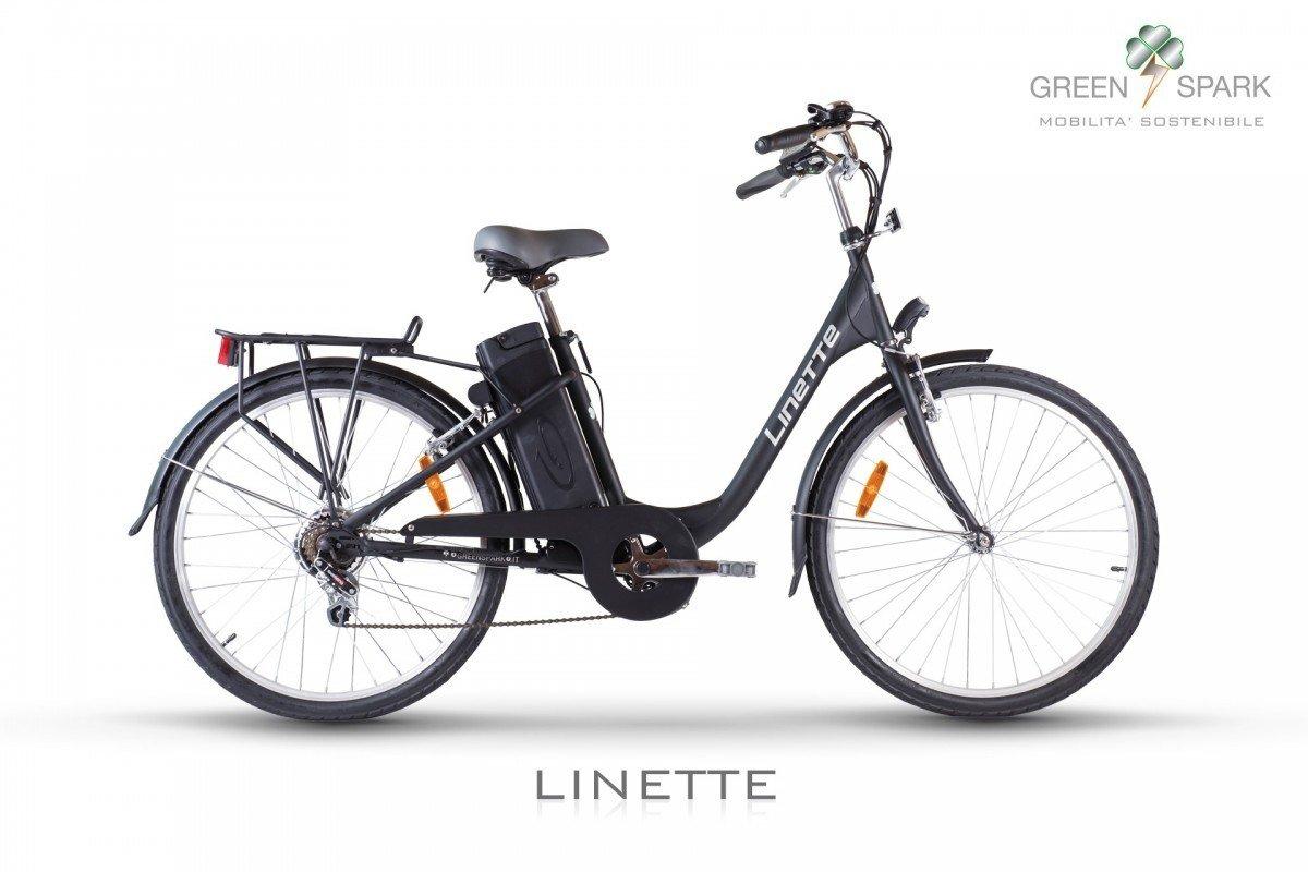 Ebike Linette Green Spark