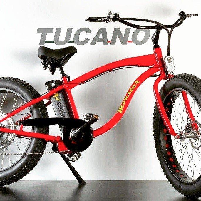 Ebike Tucano Monster Fat Tire